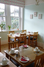 Ravenswood B&B Torquay Breakfast Room
