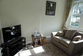 Ravenswood B&B Torquay Superior King Size Room Sitting Area